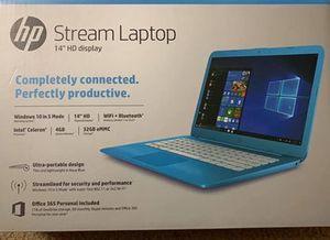 "HP Stream laptop 14"" HD Display, Intel N3060, 4GB RAM, 32GB SSD, Windows for Sale in Eagleville, PA"