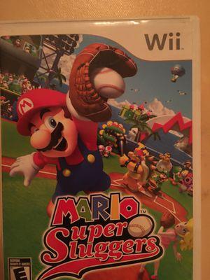 Nintendo Wii Mario super slugger for Sale in Visalia, CA