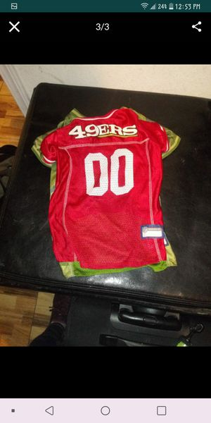 49ers dog jerseys for Sale in Manteca, CA