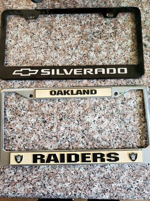 New** License Plate Frame $5 for both for Sale in ROWLAND HGHTS, CA