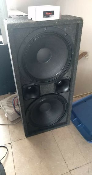2 18 sounds with driver PRV inch 280 for Sale in Reading, PA