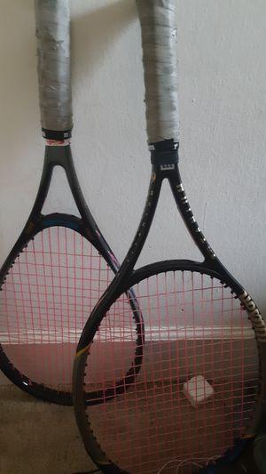 ProStaff Extender Lighting 6.6 Titanium 740PL Wilson Tennis Rackets for Sale in Alexandria, VA