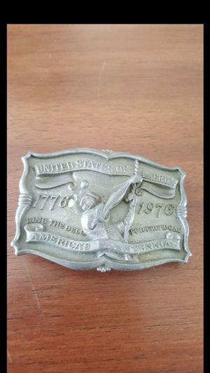 1976 BICENTENNIAL BUCKLE $10 for Sale in Tampa, FL