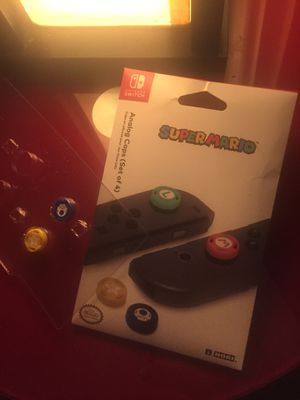 Joycon Nintendo thumb pads. Star and mushroom only for Sale in Seattle, WA