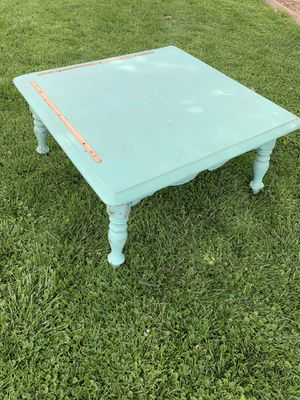 Cute unfinished project coffee table for Sale in El Mirage, AZ