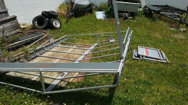 Pontoon Boat Aluminum Hard Top For Sale In Winter Haven