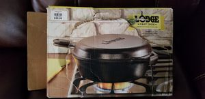 Cast iron combo cooker for Sale in Ponchatoula, LA