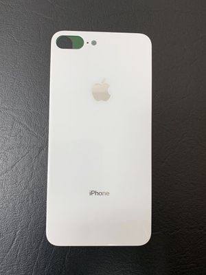 iPhone 8 Plus Back Glass Big Hole Part - White for Sale in Lakewood, CA