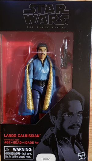 New Star Wars Black Series (Lando Calrissian) Action Figure. for Sale in Apopka, FL