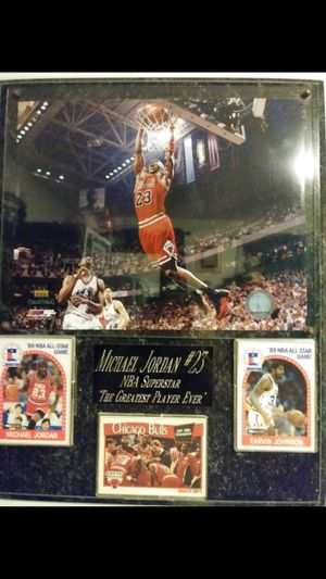 WILLING TO TRADE MJ 23 PLAQUE ONE OF A KINDE for Sale in Brooklyn, NY