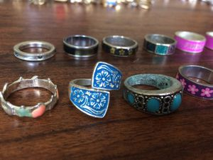 14 colorful Band Rings for Sale in Portland, OR