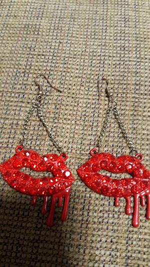 Kylie Jenner lip earrings for Sale in Moreno Valley, CA