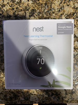 Nest Thermostat Brand New in The Box for Sale in Lake Worth, FL