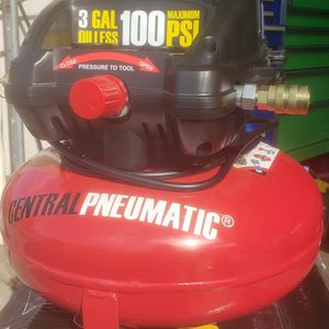3 Gallon Pancake Air Compressor 100 PSI OILESS ☆$60 FIRM☆ for Sale in Avocado Heights, CA