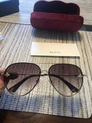 Gucci unisex sunglasses. New in box . Made in Italy for Sale in Philadelphia, PA