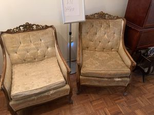 Antique arm chairs for Sale in Baltimore, MD