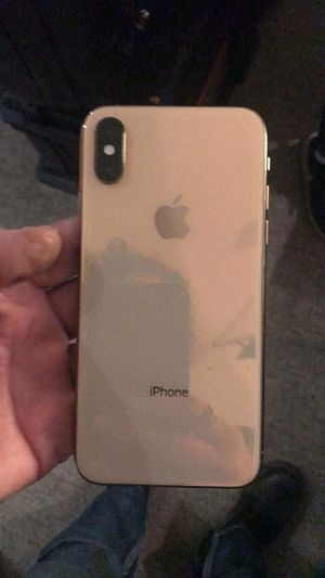 iPhone xs max 256gig unlocked for Sale in Denver, CO