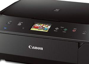 Canon PIXMA MG6620 Wireless Touchscreen All-In-One Printer Scanner - Black for Sale in Alexandria, VA