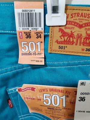 New Levis 501 36x34 for Sale in Cedar Hill, TX