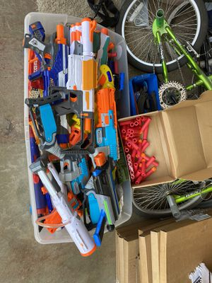 Large nerf guns toys for Sale in West Covina, CA