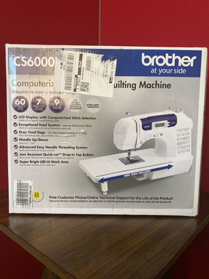 Sewing Machine - Brother CS6000i Computerized for Sale in Peoria, AZ