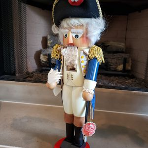 """Nutcracker """"Steinbach George Washington"""" Mint Condition with tag and original packaging for Sale in Orlando, FL"""