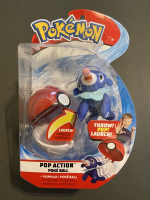 Pokemon Popplio Pop Action Throw Poke Ball Authentic for Sale in Los Angeles, CA
