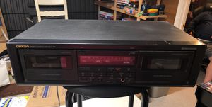 Onkyo tuner, dual cassette deck, Multi disc CD player for Sale in Vancouver, WA