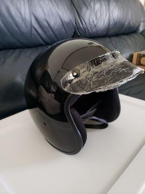 Fuel Half Motorcycle Helmet High Gloss LARGE NO BOX for Sale in Beaverdam, VA