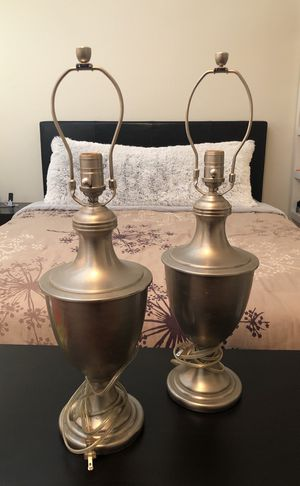 Brushed Silver Lamps for Sale in Pembroke Pines, FL