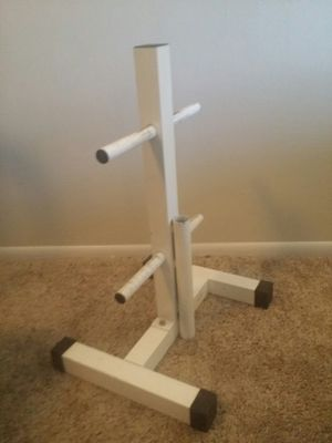 "Weider 2 tier weight tree with barbell holder. 26.5"" height, 18"" width. for Sale in Deerfield Beach, FL"
