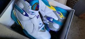 Jordan 8 retro white aqua 2019 for Sale in Chantilly, VA