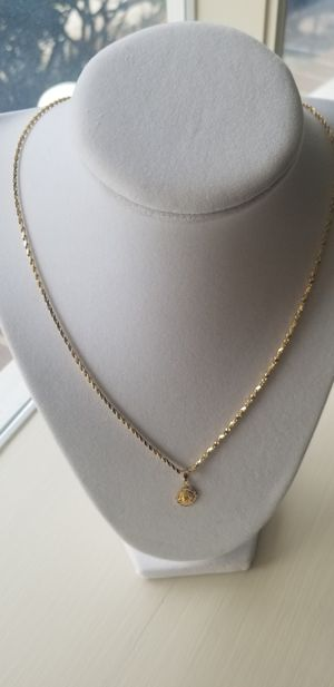14kt Gold Necklace with pendant. for Sale in Gaithersburg, MD