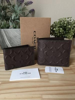Coach wallet men for Sale in Rockledge, FL