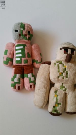 Minecraft plushie toy for Sale in Hawthorne, CA