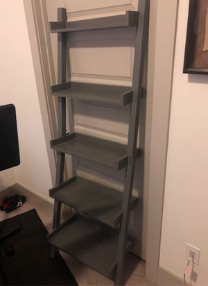 2 Lean to shelves, grey for Sale in Dallas, TX