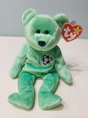 """Kicks"" Bear TY Beanie Baby 1998 Retired - great for soccer fans! for Sale in Austin, TX"
