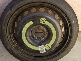 08-16 AUDI 125/60/19 A4 A5 S5 RS5 8T STEEL SPARE WHEEL RIM TIRE OEM and Original Manual for Sale in Riverside,  CA