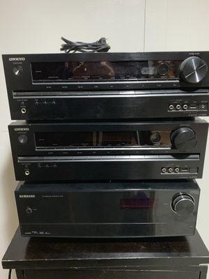 Onkyo/Samsung AV receivers for Sale in Clinton Township, MI