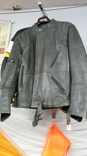 Motorcycle Cafe Racer leather jacket brand new size XL for Sale in Los Angeles, CA