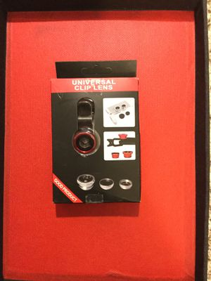 Phone Camera lens attachments NEW IN BOX for Sale in Laurel, MD