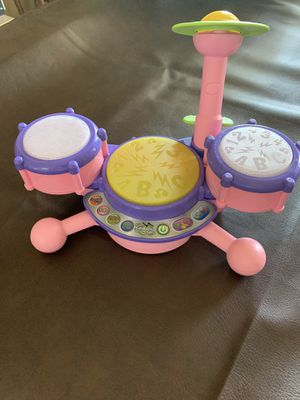KidiBeats Drum set, a toddler / baby toy :-) for Sale in Riverside, CA
