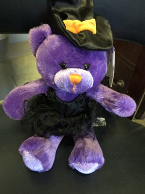 Halloween Witch Teddy Bear - Stuffed for Sale in Griswold, CT
