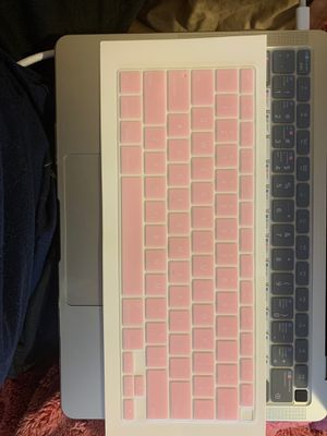 Light pink keyboard cover for MacBook Air 2020 (Touch ID) for Sale in Atlanta, GA