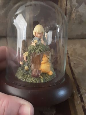 Winnie The Pooh Glass Collection Statue for Sale in Houston, TX