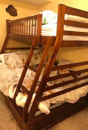Bunk bed with mattresses for Sale in Seattle, WA