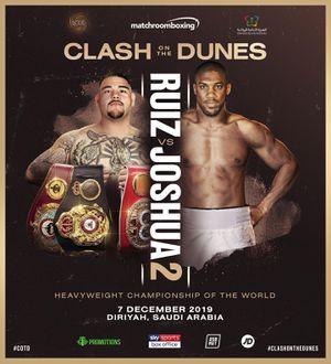 Ruiz Joshua 2 fight for Sale in Avondale, AZ