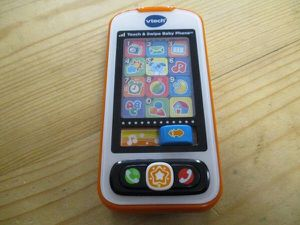 vtech touch & swipe baby phone toy toddler for Sale in Lake Forest, CA
