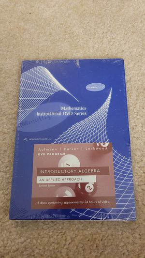 Mathematics Instructional DVD Series for Sale in Wheaton, MD