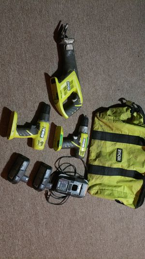 RYOBI POWER TOOL SET for Sale in Frederick, MD